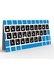 ZZCP Photoshop raccourcis clavier autocollant pour PC portable Blanc Noir