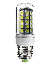 E26/E27 Bombillas LED de Mazorca T 59 SMD 5050 700 lm Blanco Fresco Decorativa AC 100-240 V
