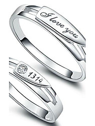 Whole Life Mode Femme Q-belle ™ One 925 Bague en argent sterling