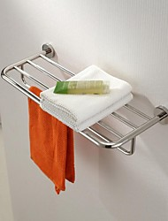 Stainless Steel Bright Polished Finish Towel Rack