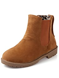 Suede Women's  Flat Heel Booties/Ankle Boots (More Colors)
