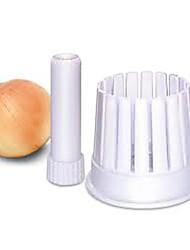 "2-in-1 Onion Blossom  Onion Slicing , Plastic 5.2""X3.6""X3.6"""