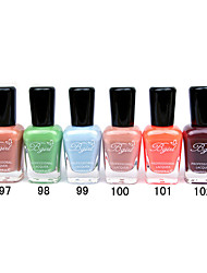 French Imports Makings Pro-environment Nail Polish NO.97-102(16ml,Assorted Color)