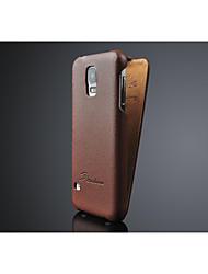 fashion® перевернуть крышку из натуральной кожи для Samsung Galaxy S5 i9600