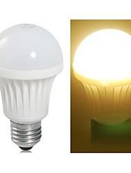 E26/E27 Ampoules Globe LED A60(A19) 11 SMD 3528 490LM lm Blanc Chaud AC 100-240 V
