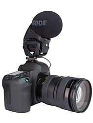montó estéreo pro micrófono Videomic para réflex digitales