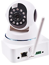 ROCAM®-Wireless IP Surveillance Camera with Angle Control (Motion Alerts, Night Vision, Free P2P, White)