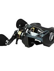 8BB Baitcasting Fishing Reel Right Hand 0.30/90mm/m Black