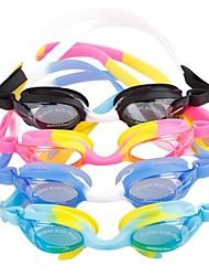 Kid's Silica Gel  Anti-fog UV Shield Protect Waterproof Swimming Glasses  Assorted Color