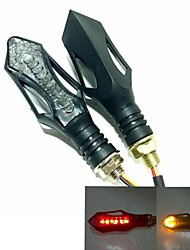 Newest 3 in 1  Creative Design Motorcycle turn lights (brake and warning lights)