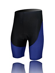XINTOWN Unisex The High Quality Terylene Breathability Cycling Shorts—Black+Purple