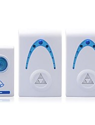 Home Security Digital Wireless Doorbell with 32 Melodies (2Pcs)