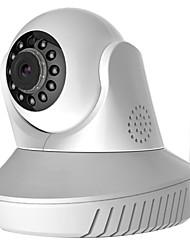nieuw design p2p 720p wifi camera voor l809p ingebouwde pan / tilt voor ios en android