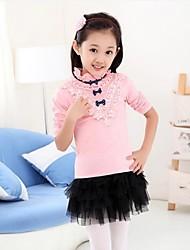 Girl's Fashion And Joker Long Sleeve Shirt