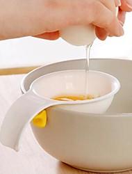 Mini-Eigelb-Separator mit Silikonhalter Küchenwerkzeug Ei Teiler