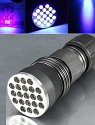 LED Flashlights/Torch / Black Light Flashlights/Torch / Handheld Flashlights/Torch LED 1 Mode Lumens Nonslip grip Luminus SST-90 AAA