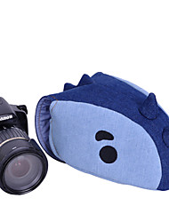 pluma pm10211a lua saco câmera caso dos desenhos animados para Canon Nikon Pentax K-30 k-50 k-5lls