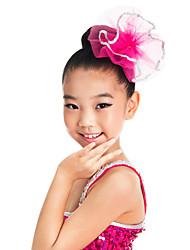 Accessori danza e ballo Accessori per capelli Per bambini Addestramento Organza Paillettes Rosa Balletto / Esibizione Quattro stagioni
