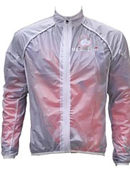 Realtoo® Cycling Rain Jacket/Waterproof jacket/Wind Jacket/Raincoat Unisex Windproof Transparent