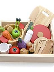 ligneuse légumes Puddy cuisine en bois jeu de simulation jouets edcational