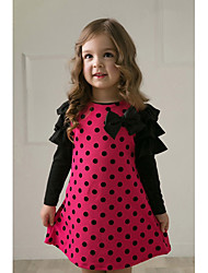 Kid's Dress , Cotton Cute E Wen