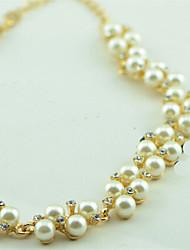 Cock женская мода жемчужина ожерелье г-088