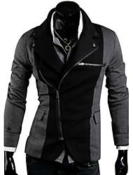 cor correspondente zipper blazer irregular