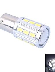 High Quality 1156/BA15S 4W 220LM 21x5730 SMD White LED for Car Steering Light / Backup / Brake Light (DC12-24V, 1Pcs)