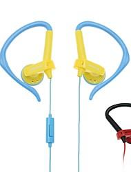 casque en 049 salut-fi stéréo ajustable sur-oreille avec microphone micro (couleurs assorties)