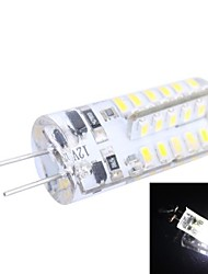 G4 2.5W 150LM 7000K 48x3014 White LED Light Bulb(DC 12V)