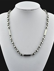 toonykelly® plaqué classique antique argent platine collier pendentif (1pc)