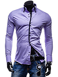 Men's Dresses , Cotton Casual Voboom