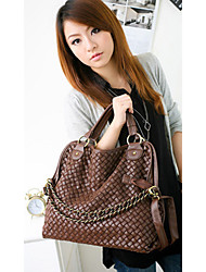 Leica Women's Fashionable Weave Crossbody&Messenger Shoulder Bags