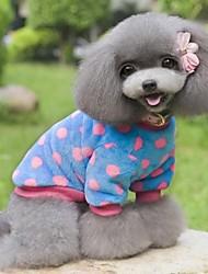 coloridas roupas dot design para animais de estimação (cães tamanhos variados, cores)