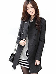 manteau en tweed mode casual