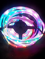 5M 48W 5050 WS2811 Symphony RGB WaterProof LED Strip Lights;48LED/M (12V)