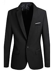 causal coreano casaco fino blazer