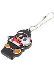 ZP ciondolo cartone animato pinguino usb carattere flash drive 16gb