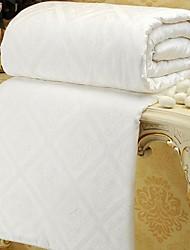 colcha de seda pura jacquard de cetim de seda Consolador