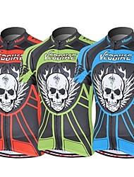 deus da morte super cool moto crânio de manga curta camisa de ciclismo para homens