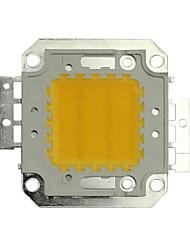 jiawen® 20w 1600-1800lm 3000K теплый белый привело чип (постоянного тока 30-33v)