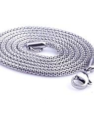 z&X® moda personalidade muito tempo cobra colares de titânio de aço dos homens