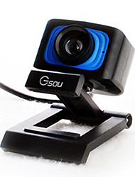 Gsou A30T High Definition UVC Webcam with Microphone for Desktop Computer and Laptop