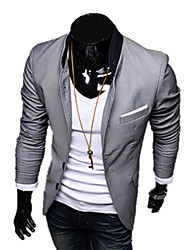 Solid Color Individuality Blazer