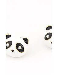Fashion Lovely Panda Stud Earrings