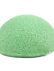1Pcs Green Tea Konnyaku Cleansing Puff