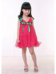 Kid's Dress , Cotton Casual DHX