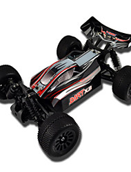 Maßstab 1/18 4WD Brushed Stadion RC Truck (Schwarz)