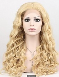 Bonde Synthetic Hair Deep Wave Wig with Adjustable Size Cap