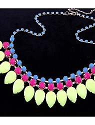 mts westlichen Stil, Mode, Edelstein Halskette diamonade